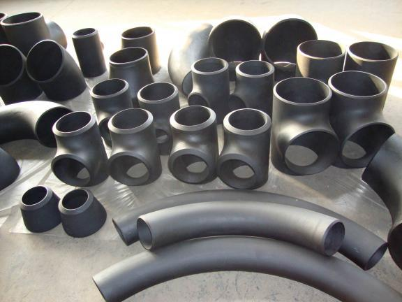 China carbon steel pipe fitting elbow tee reducer