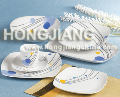 32PCS Porcelain Tableware (086)