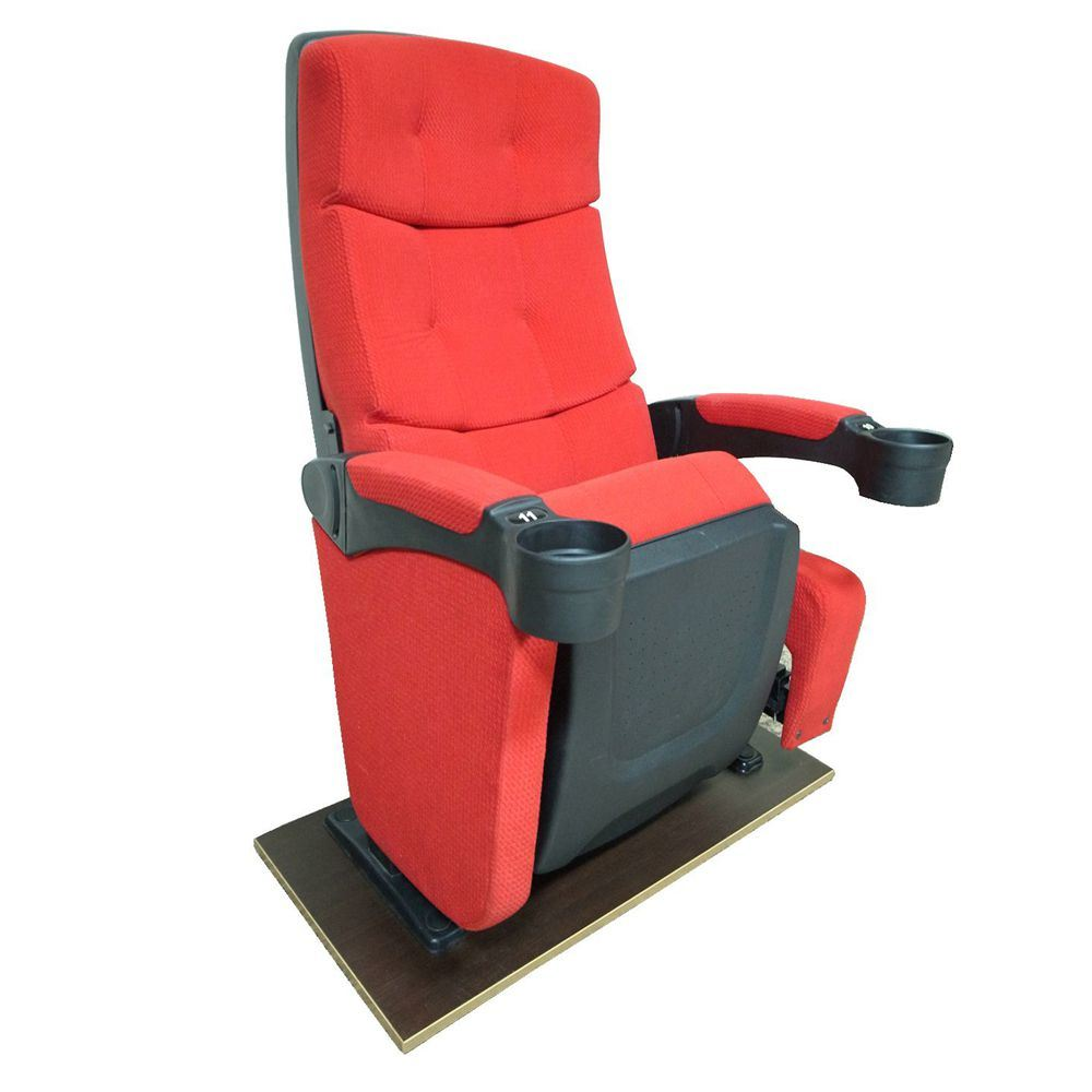 Full Rocking Cinema Seating Auditorium Theater Seat Conference Chair (S22JY)