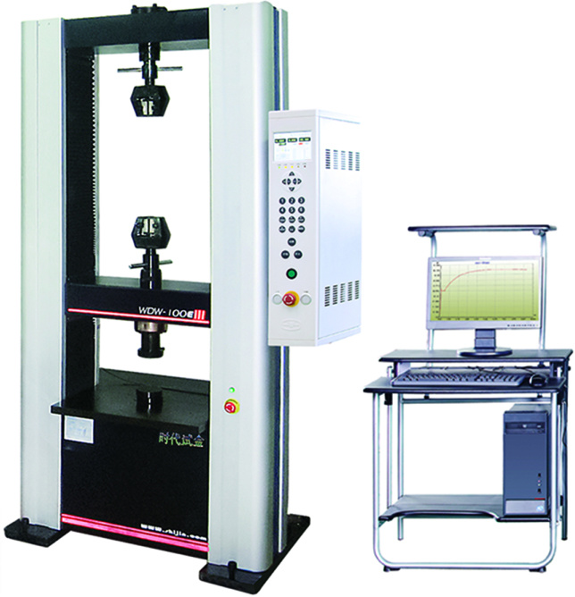 Double controlled Electronic Universal Testing Machine WDW-100E