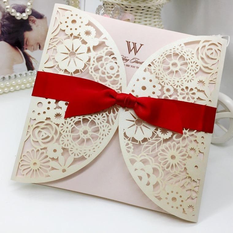 Fancy Luxury Wedding Cards Custom Greeting Cards Printing