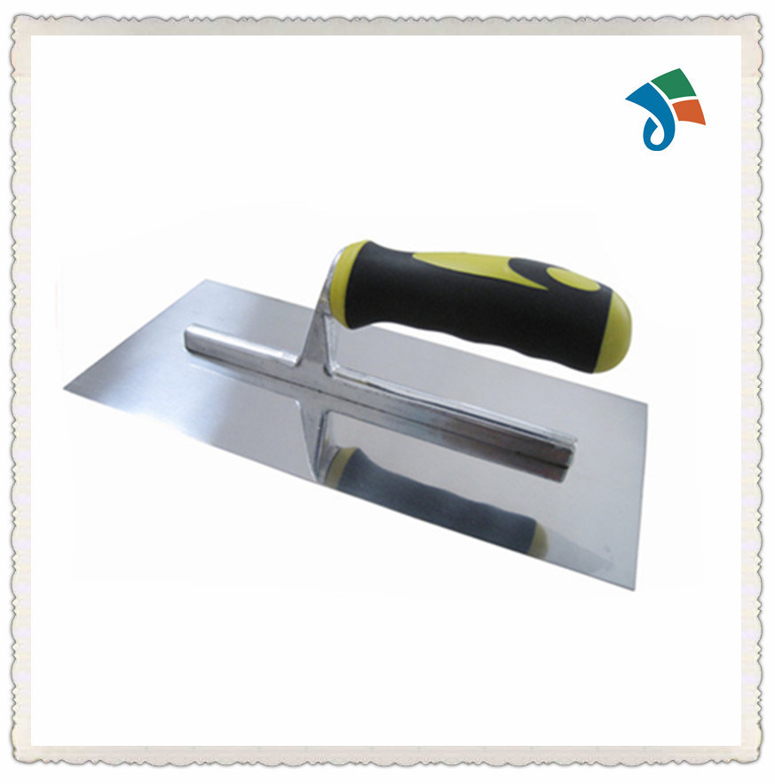 2-Color Soft TPR Handle Stainless Steel Plastering Trowel