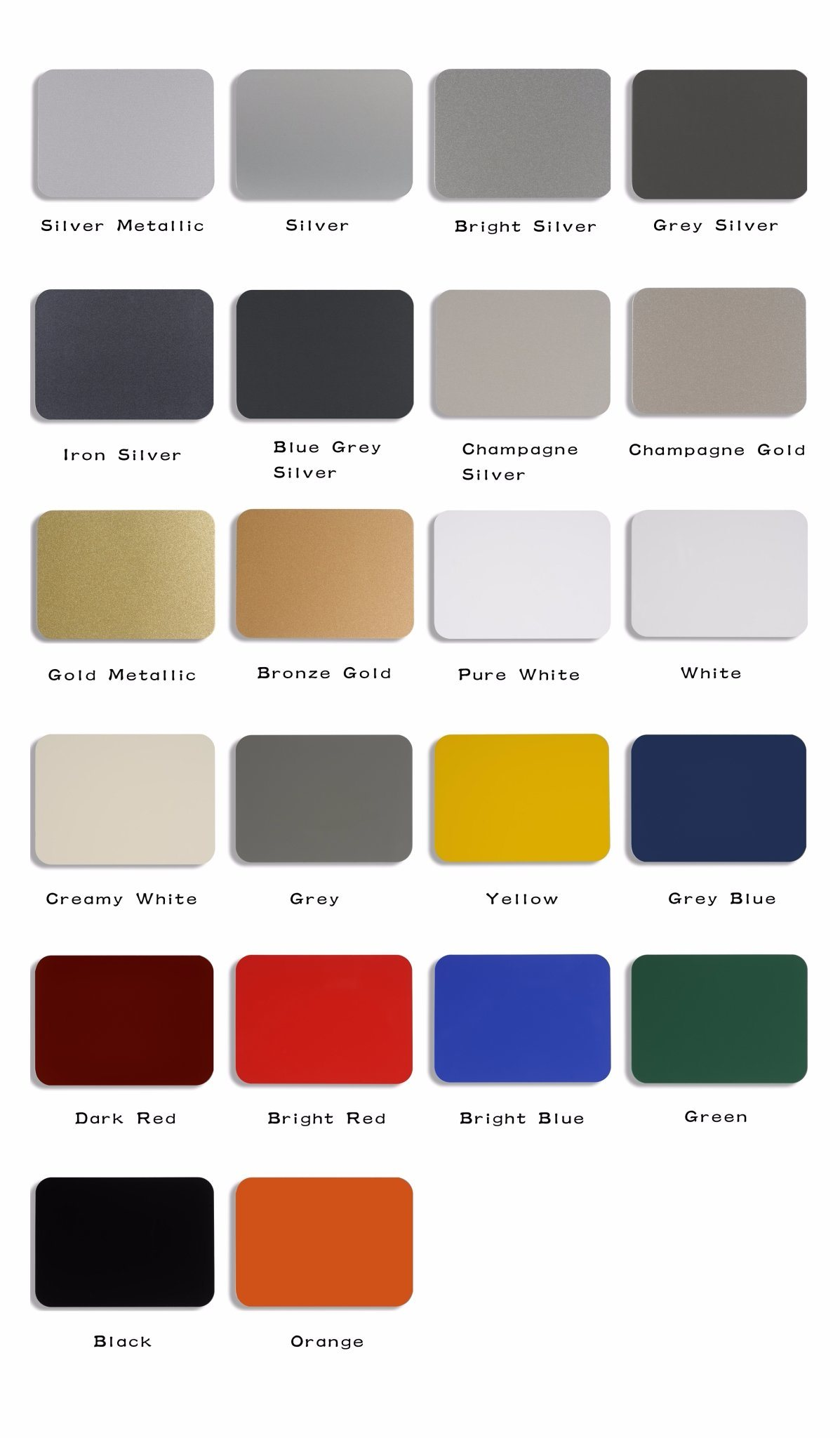 Aluis Exterior 3mm Aluminium Composite Panel-0.30mm Aluminium Skin Thickness of FEVE High Glossiness Grey Blue
