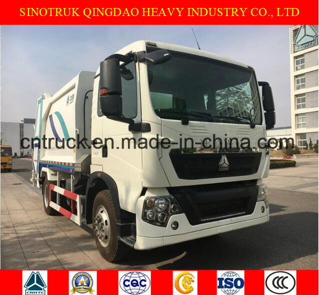 Sinotruk HOWO Garbage Truck From 6 M3 to 22 M3