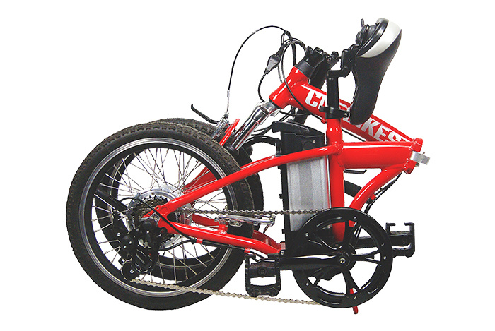 "20"" Electric Folding Bike with 250W Motor, 10ah Battery"