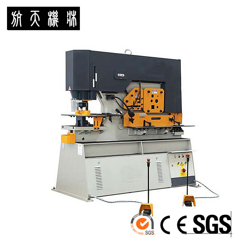 China Ironworker Machine with Double Cylinder