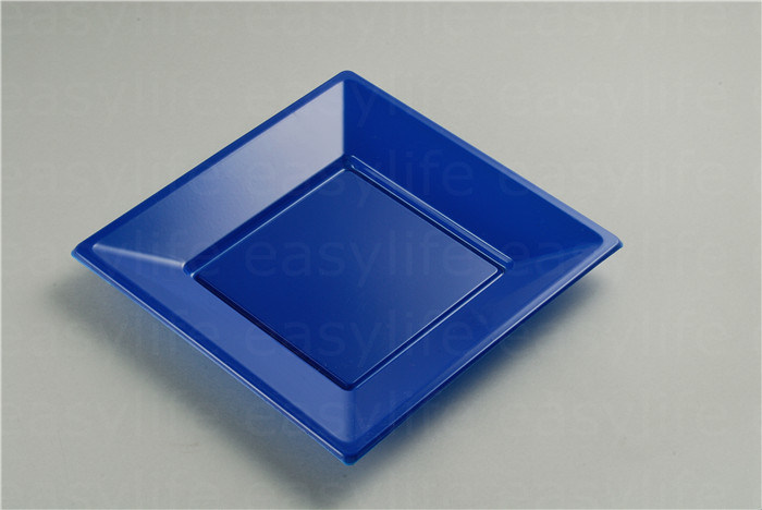 Shape 1 Easylife Various Disposable PS Plastic Square Plate