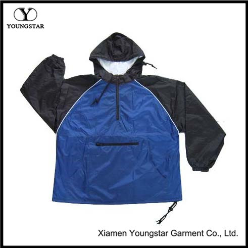 Fashion Outdoor Windbreaker Jacket with AC Coating