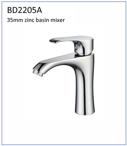 Bd2205A New Design 35mm Zinc High Quality Basin Faucet