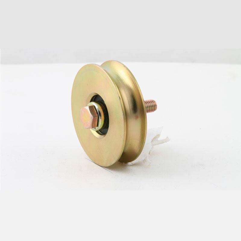 Single Sliding Guide Gate Steel Wheels with Plus Screws