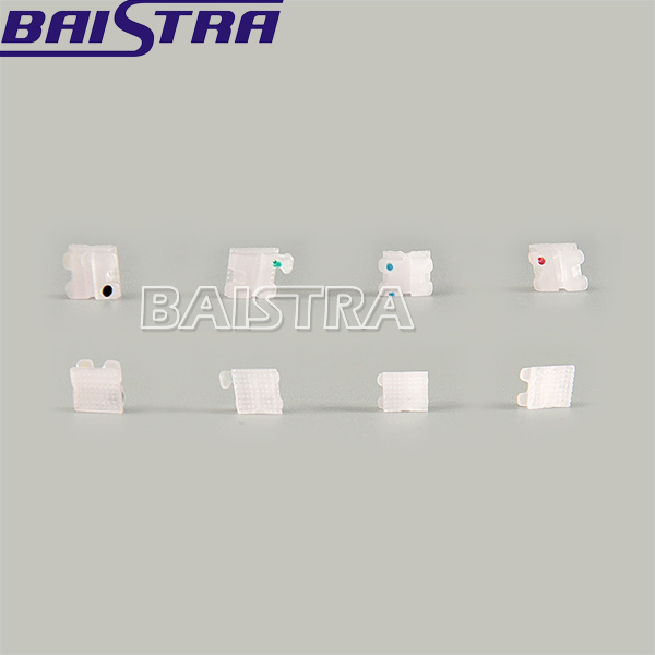 Classone 5*5 Roth Slot 022 Orthodontic Ceramic Bracket