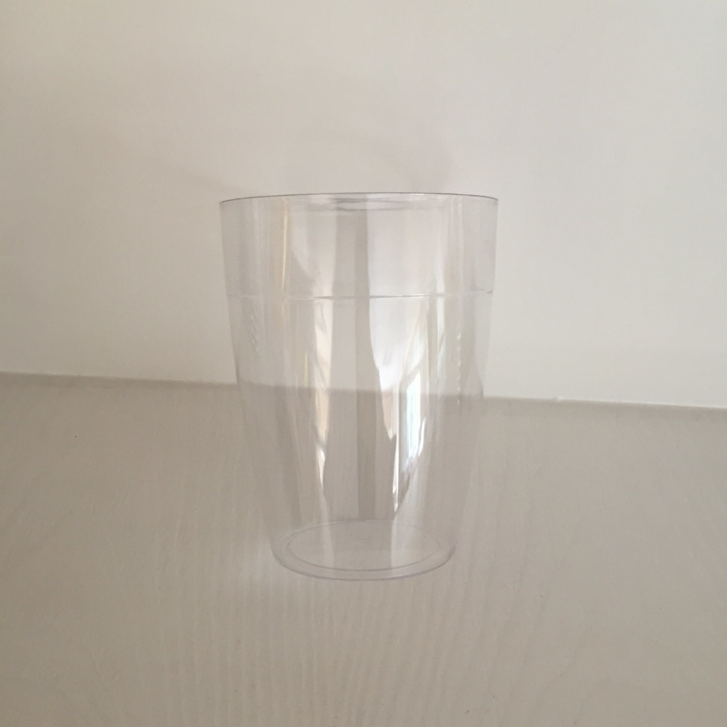 Plastic Cup, Glass, Mug, Tableware, PS, Disposable, Colorful, GB-12, Clear