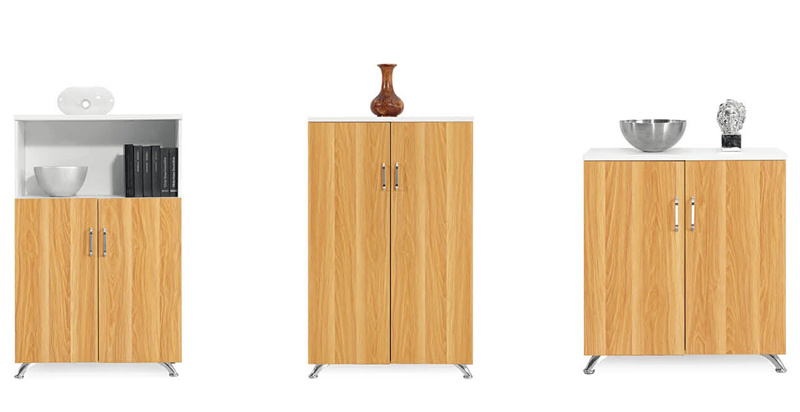 Different Size Modern Office Corner Storage Cabinet