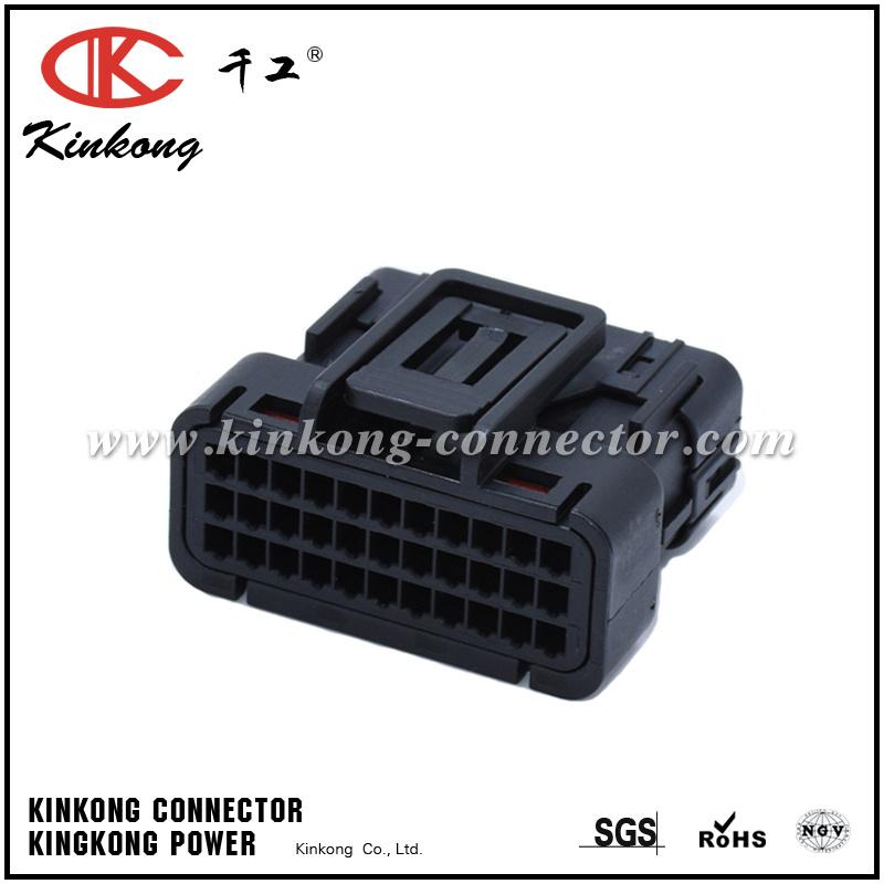 33 Pin Female Automobile ECU Pinheader Electrical Connectors 6188-0800