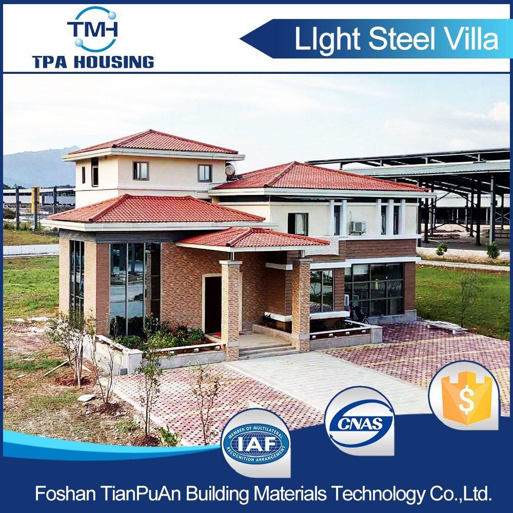 Steel Structure Prefab Kit Villa House for Family