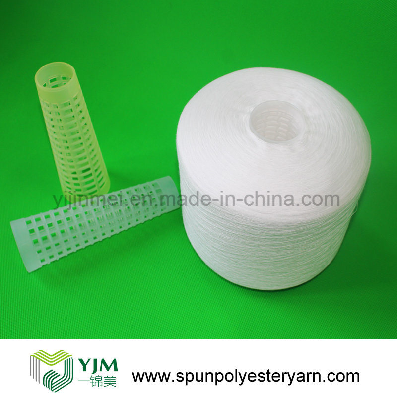 100% Virgin Polyester Spun Yarn From Hubei