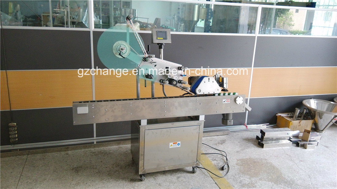 Bench Top Automatic Horizontal Small Round Bottle Labeling Machine
