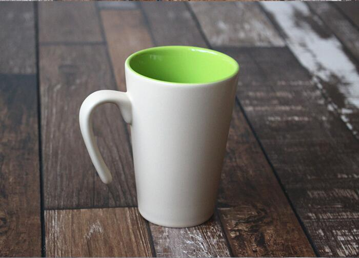 Wholesale Ceramic Coffee Mug with Customize Color with Logo Printing
