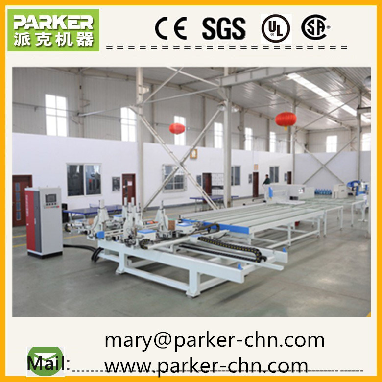 Horizontal CNC Four Corner Welding Machine