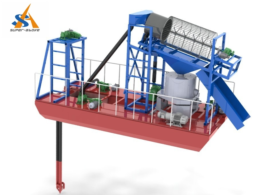 Portable Sand Jet Suction Dredger/Ship for Sale