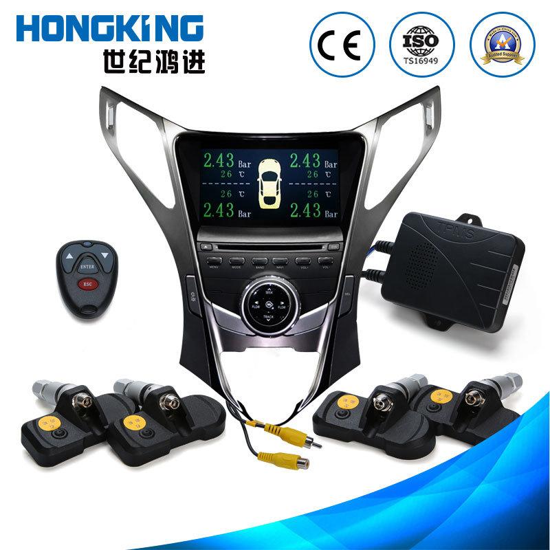 Tyre Pressure GPS Gauge with Inbuilt 4 Tire Sensors
