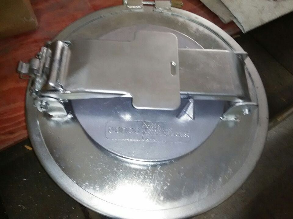 "16"" Road Fuel Tanker Manway Cover Hoop Type"