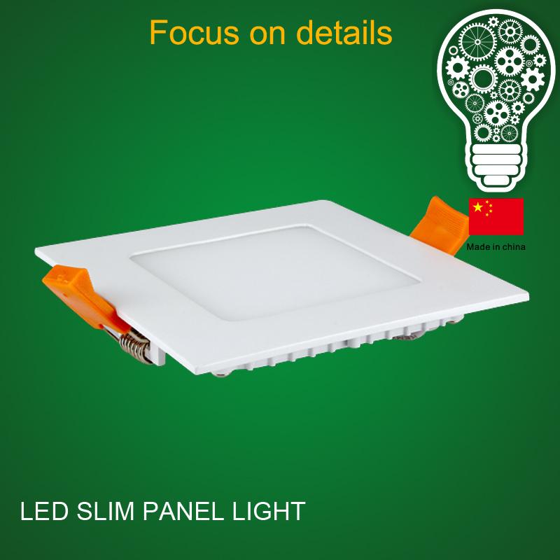 Factory Price Indoor Lighting Recessed Panel LED Light Aluminium Parts