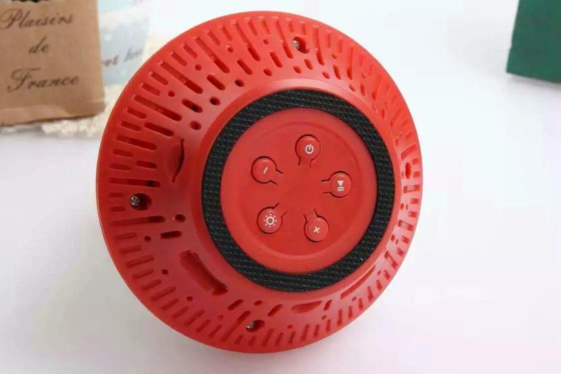 Variable Light Bluetooth Speaker -8608