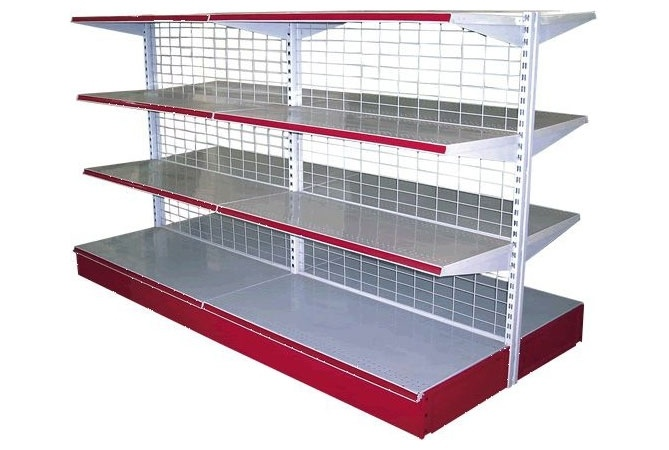 School Iron Steel Metal Lab Library Supermarket Storage Rack (NS-ST013)