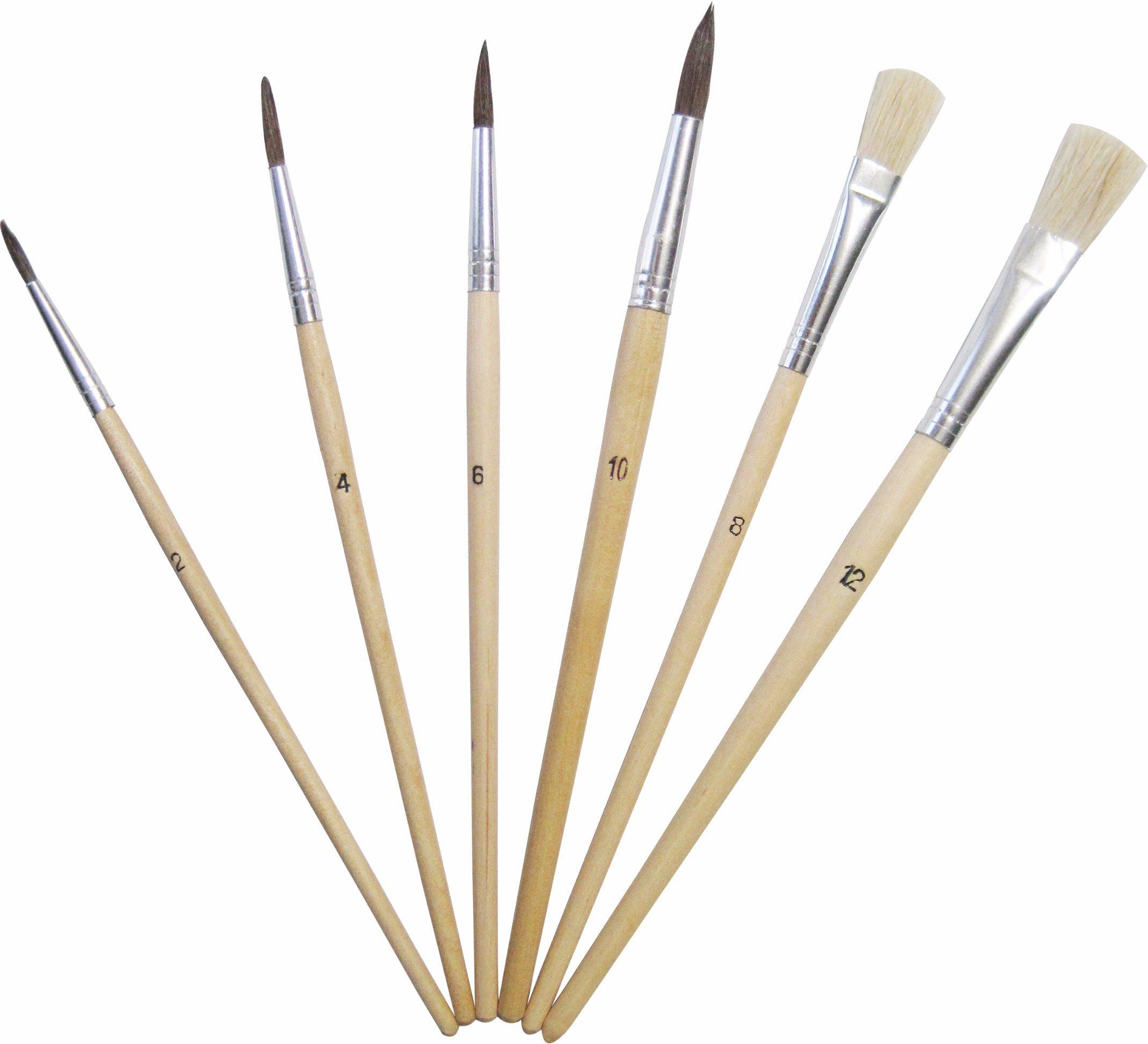 Nylon Hair Brush Set Art Paint Brush
