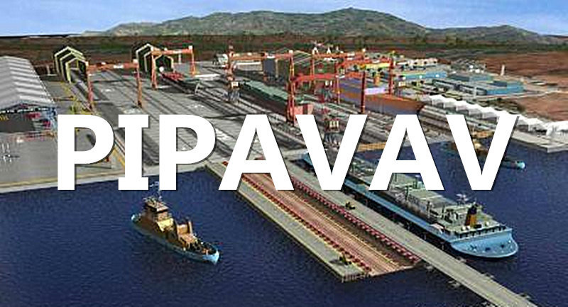 Shipping From Qingdao, China to Pipavav, India