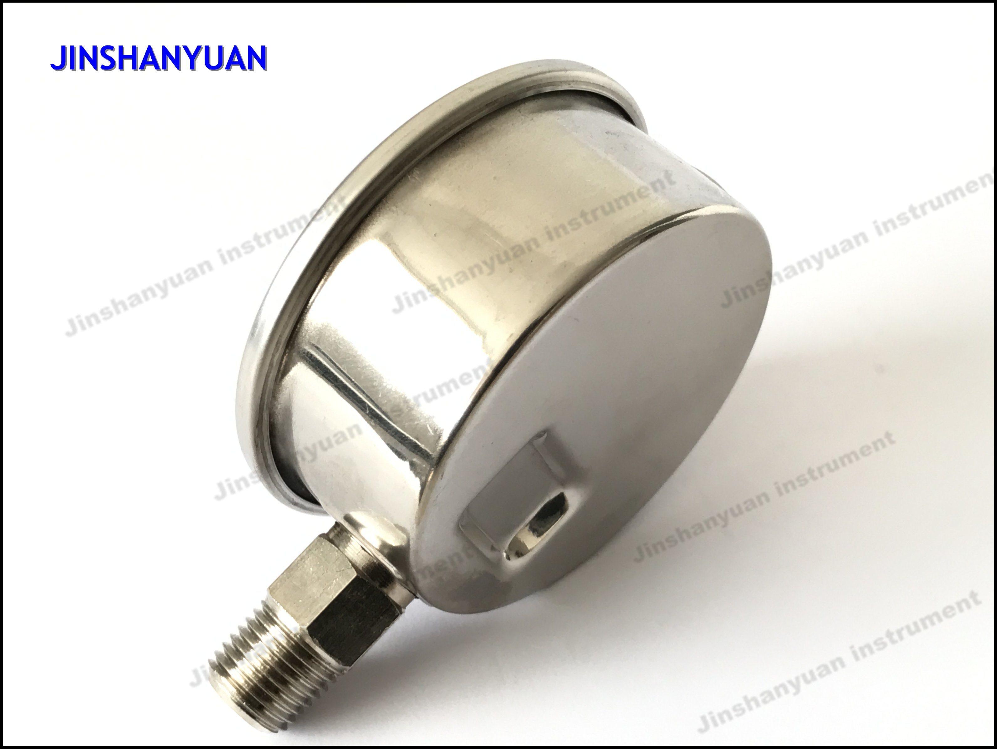 Og-006 Industrial Manometer/Liquid Filled Pressure Gauge