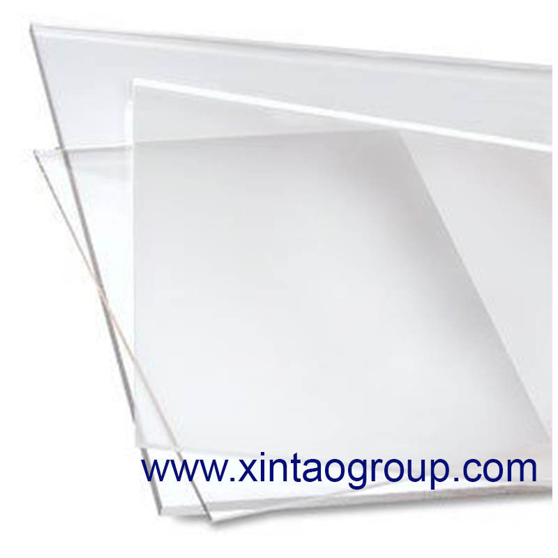 Plexiglass Plate as Acrylic Sheet or PMMA Sheet to Be Fixed as Construction Material for Acrylic Board or PMMA Board