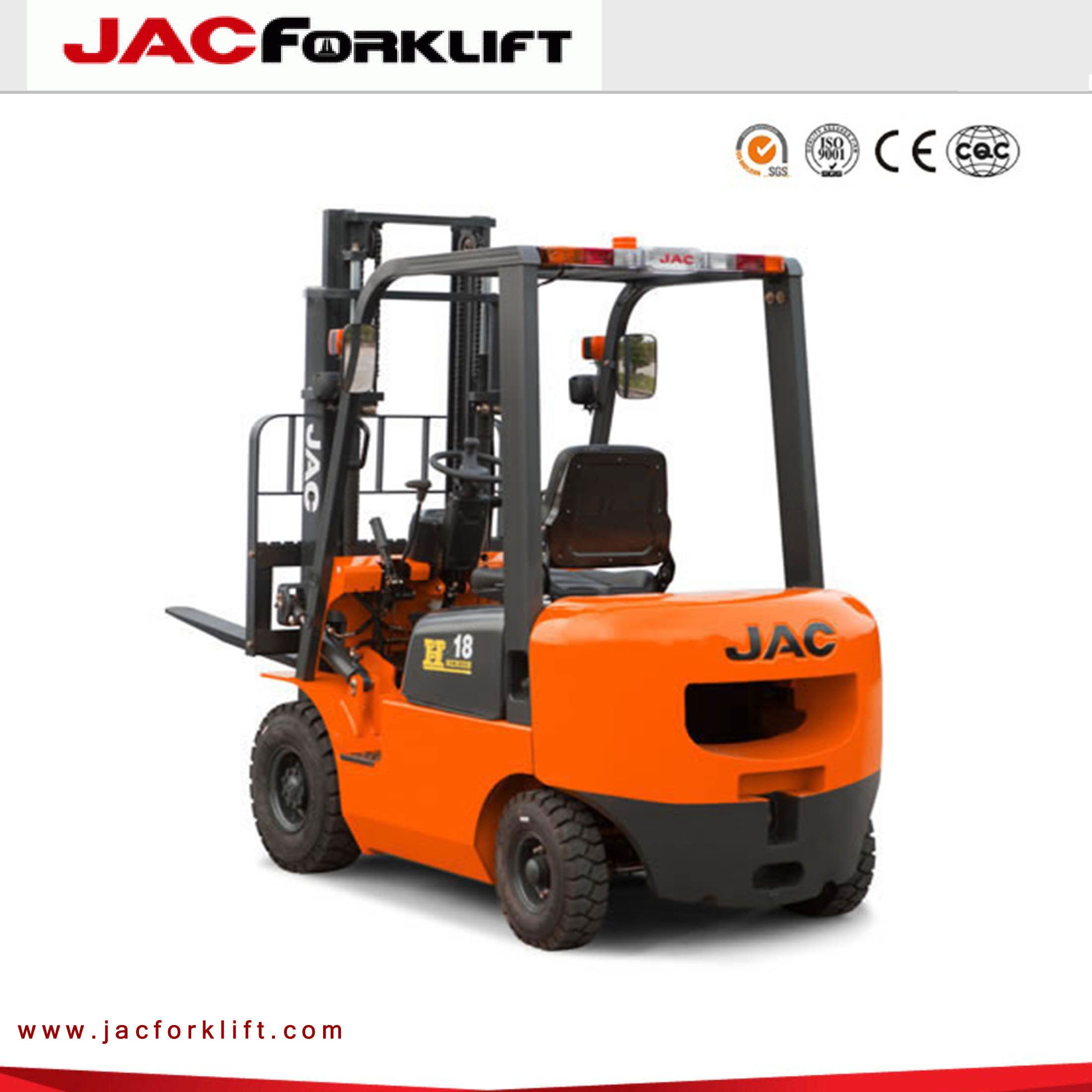 1.5t Ce Approved Hydraulic Japan Diesel Forklift