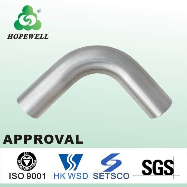Top Quality Inox Sanitary Stainless Steel 304 316 90 Degree Equal Elbow