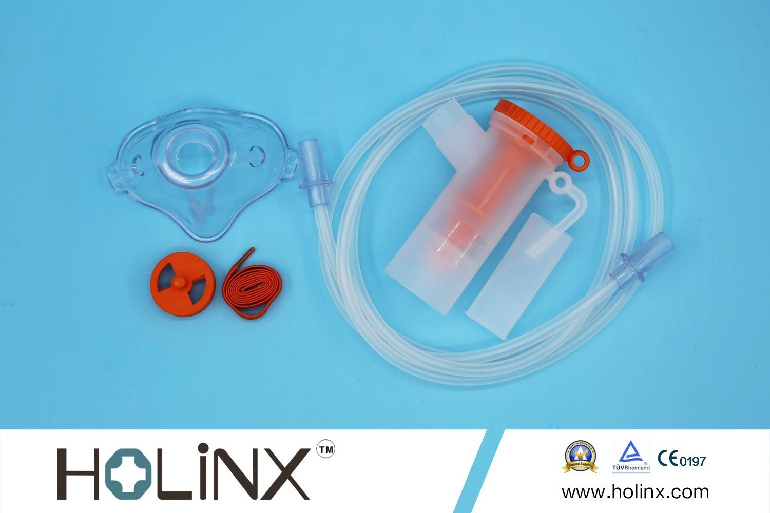 Ce Approved Disposable Medical Oxygen Mask (with nebulizer and Tube)