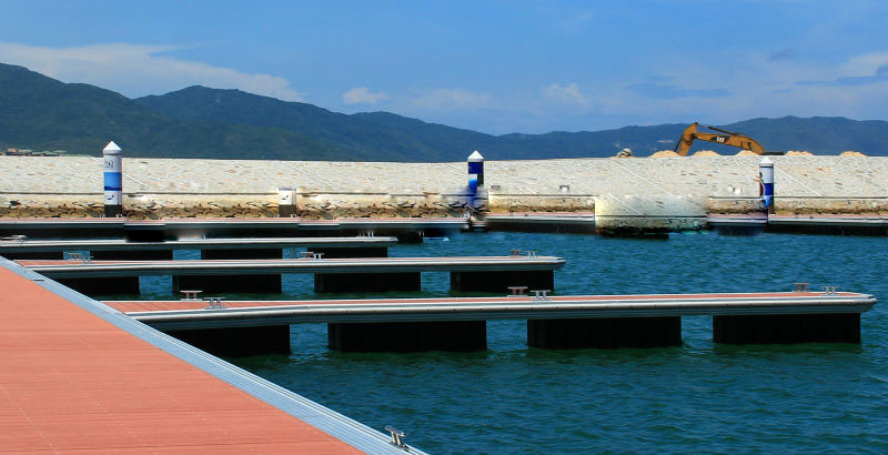Rotomolded Plastic Pontoon for Dock LLDPE Material