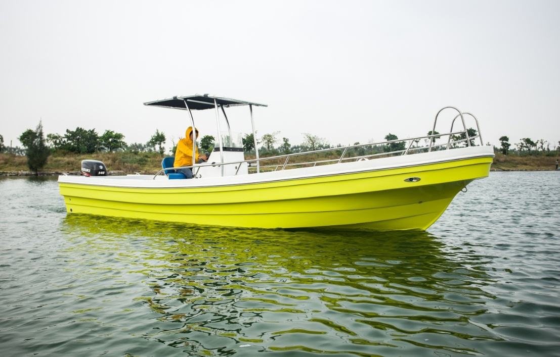26′ Small Fiberglass Fishing Boat Fishing Yacht Ce Certificate for Sale