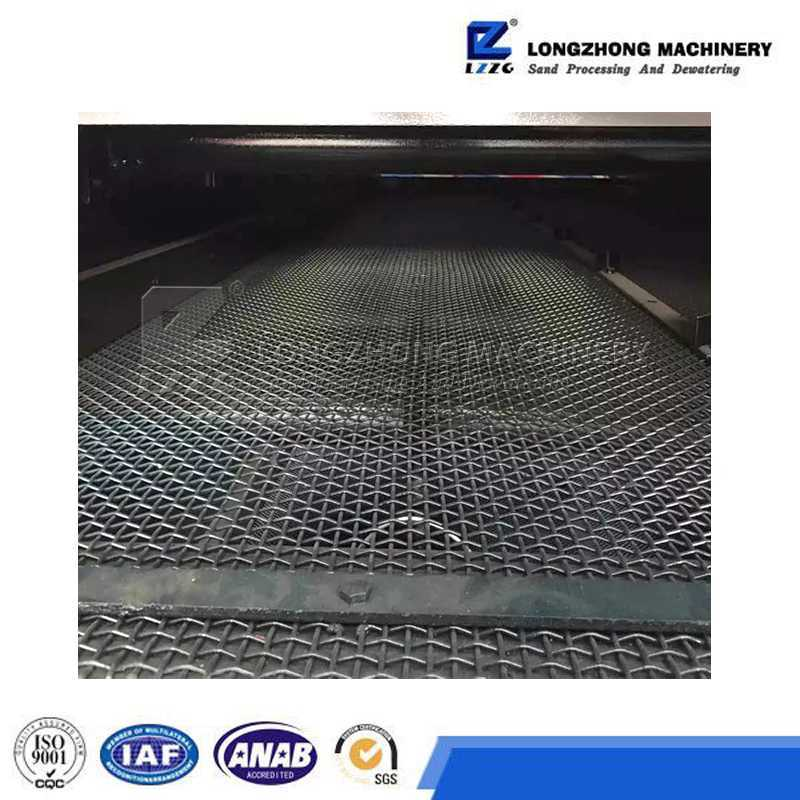 Stainless Steel Crimped Mine Sieving Wire Mesh for Vibrating Screen