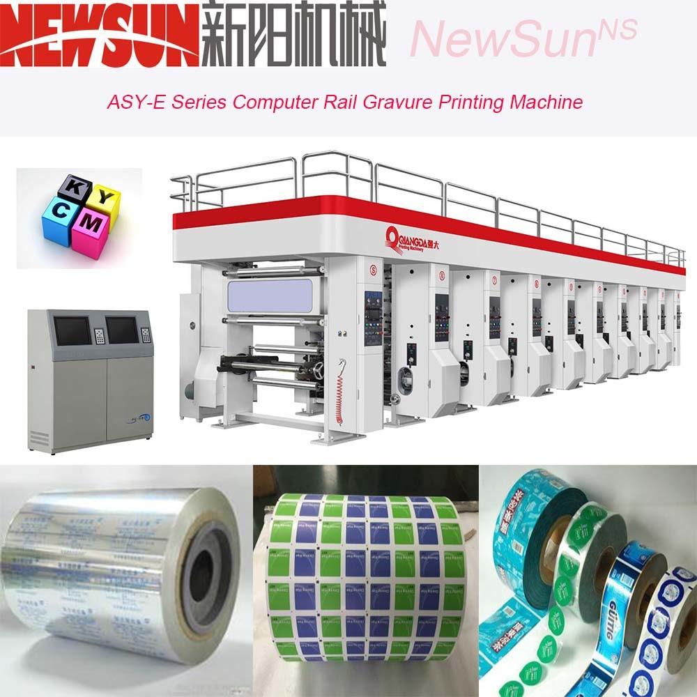 Asy-E Series Computerized Rail Paper Gravure Printing Presses