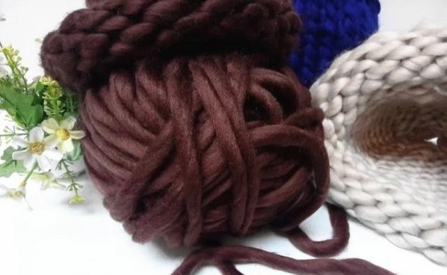 Super Chunky Big Loop Merino Wool Yarn