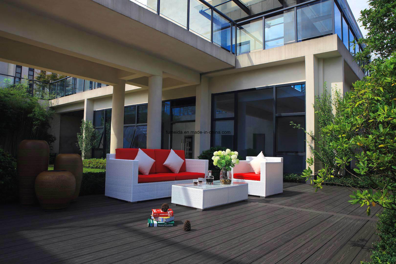 WPC Outdoor Flooring Wood Plastic Composite Decking 146*25