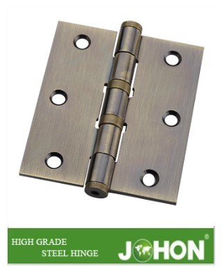 "Steel or Iron Hardware Furnituer Door Metal Hinge (3.5""X3.5"" hinge joint)"