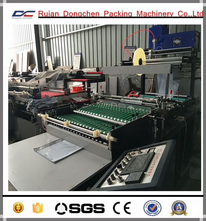 Plastic Side Sealing Bag Making Machine for Courier Bags (DC-ZB800)