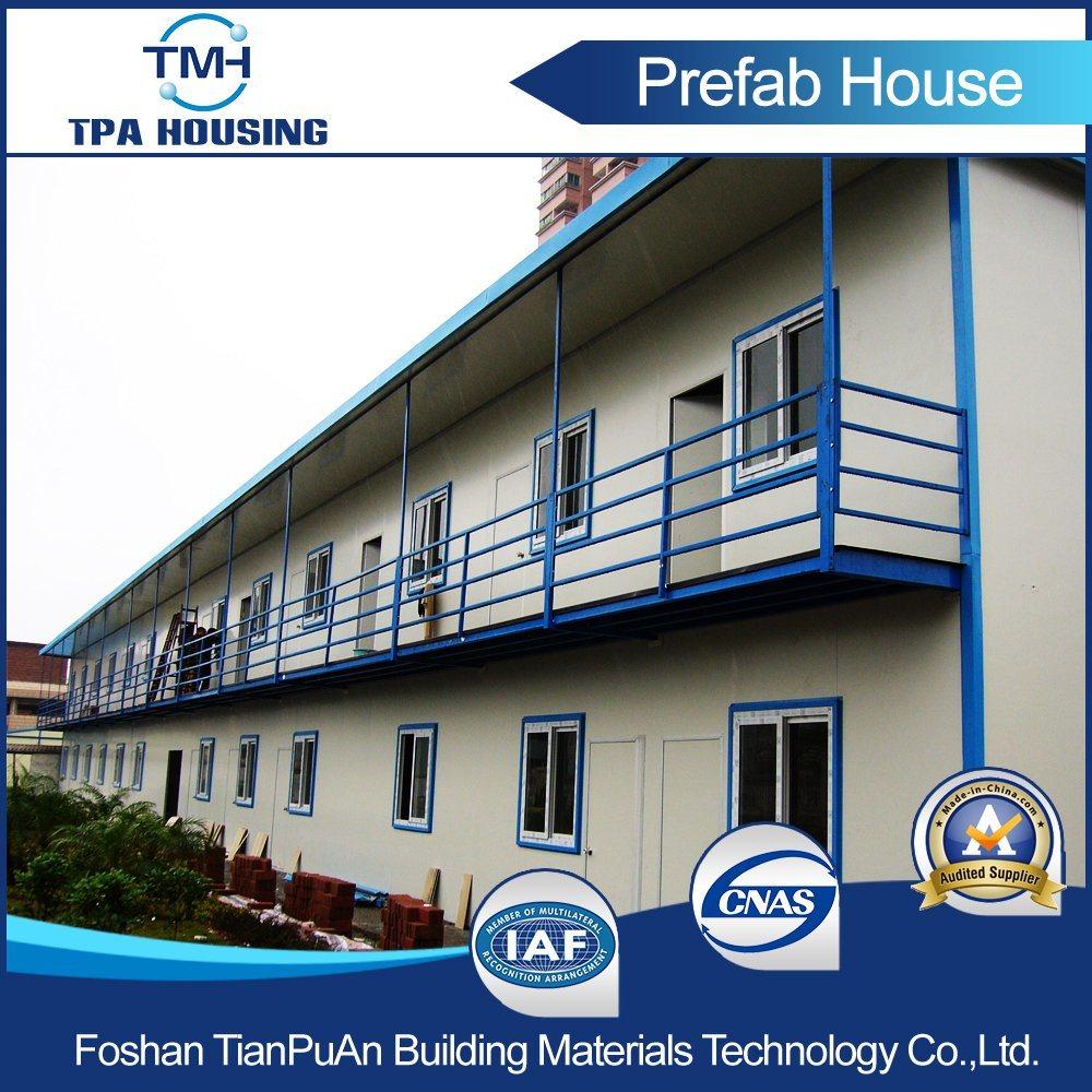2 Floor Steel Frame Prefab House for Temporary Working Office