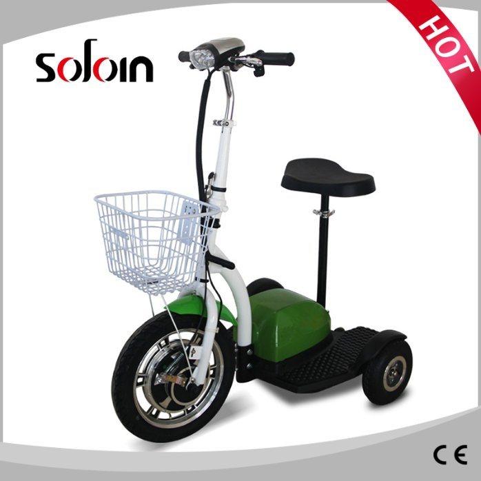 350W 36V 3 Wheel Foldable Mobility Golf Trolley (SZE350S-3)