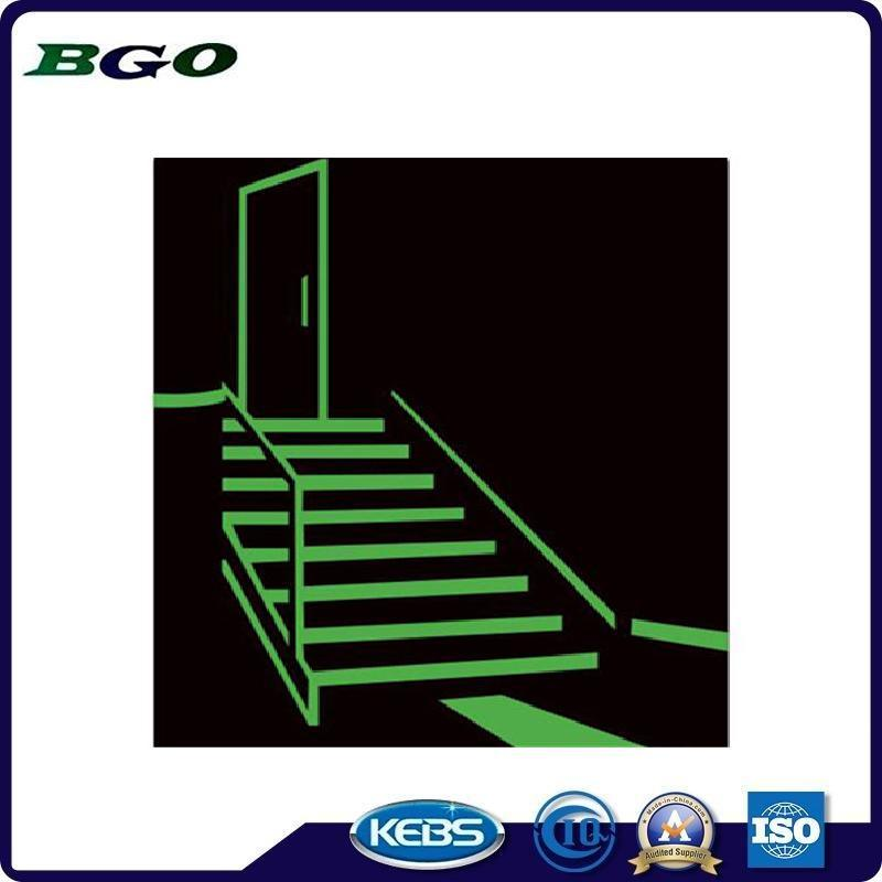 Luminescent Film for Exit Routes Safety