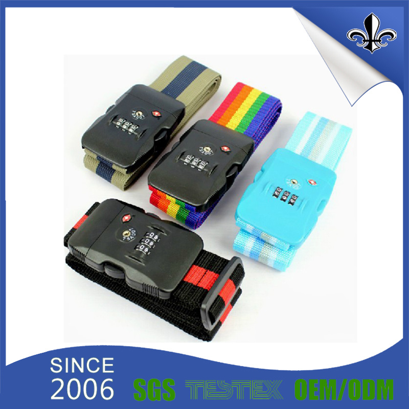 Custom Fashion Digital Print Luggage Belt for Promotion Items