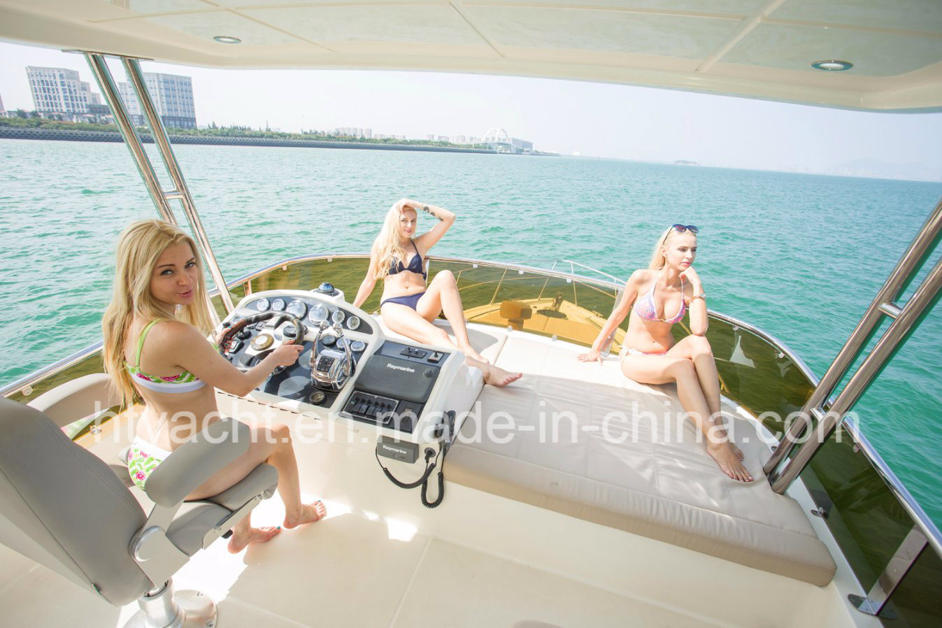 46′ Luxury Yacht FRP Hangtong Borose 46 Factory-Direct Customizable