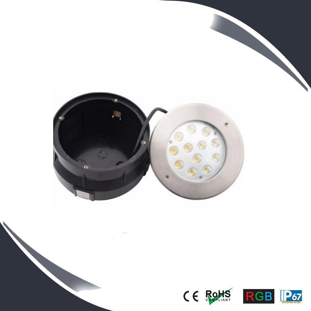 36W IP67 LED Floor Light Stainless Housing, LED Underground Light, Underground Lighting